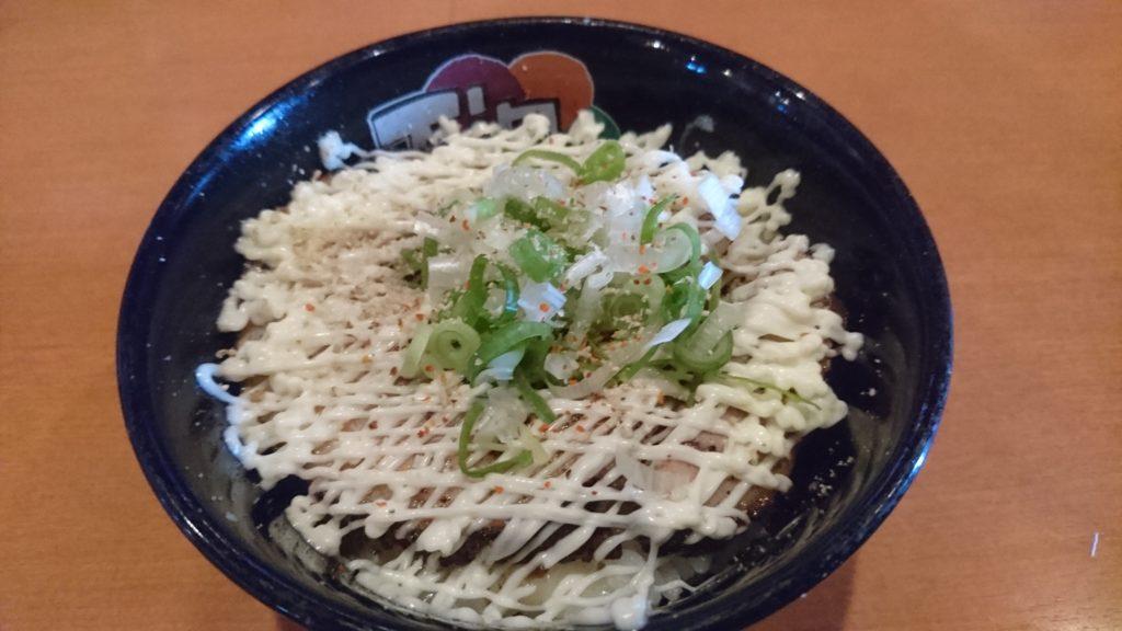 ゆいまーる人沖縄市安慶田の炙りチーズマヨとん丼