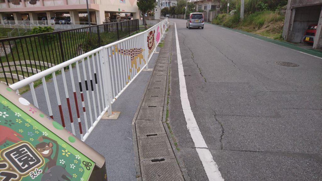 安慶田公園沖縄市の駐車スペース