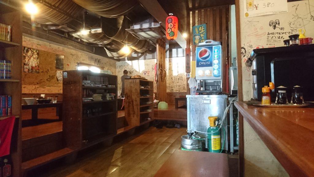 沖縄市安慶田ゆいまーる人の店内