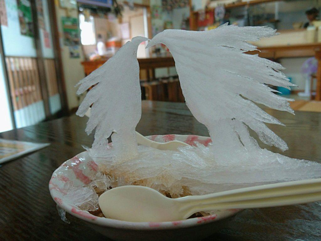 沖縄市泡瀬米八そばのぜんざい