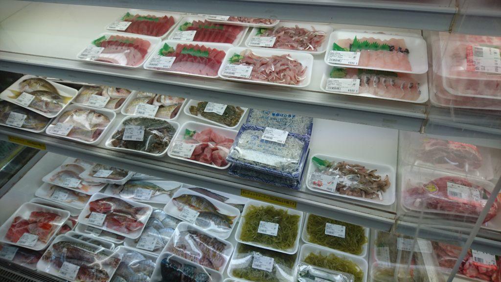 沖縄市登川JAちゃんぷるー市場の鮮魚