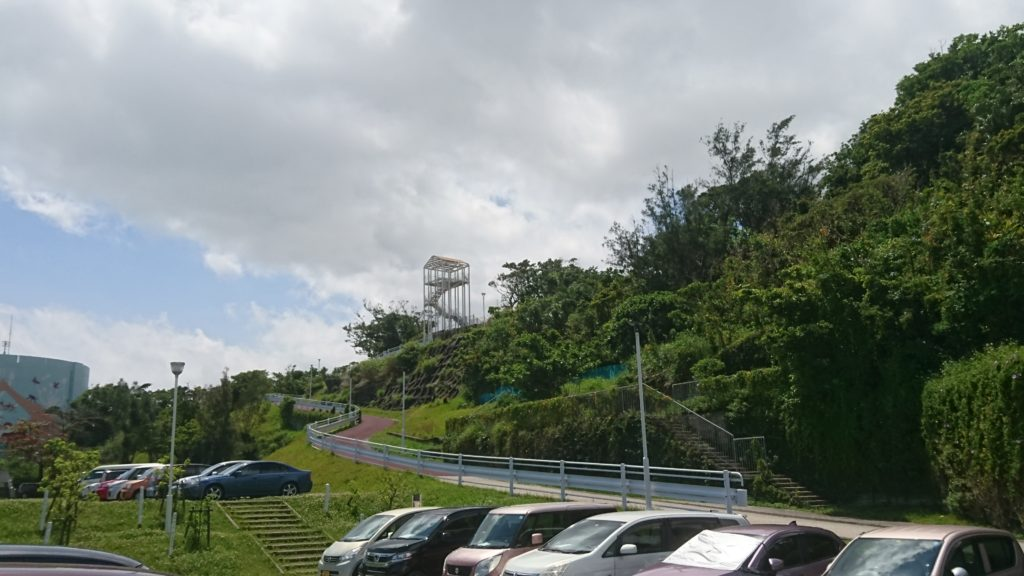 沖縄市こどもの国駐車場