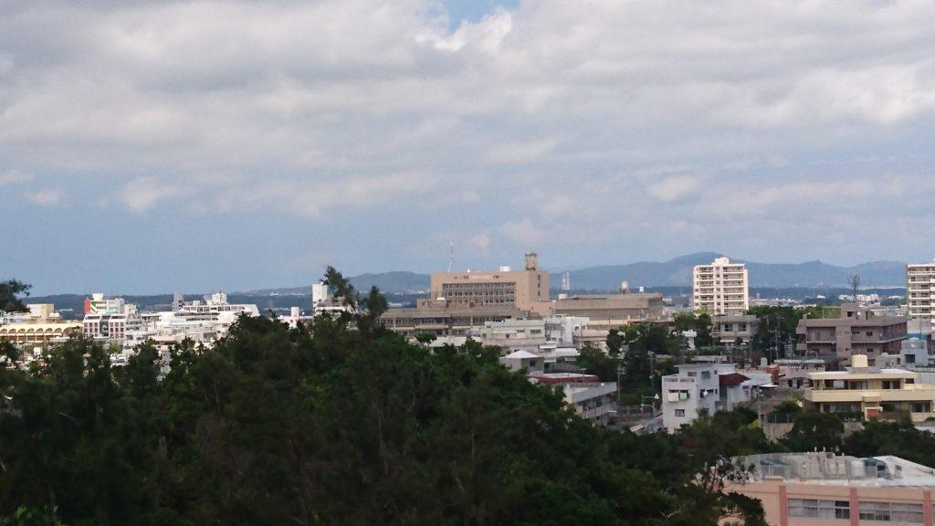 沖縄こどもの国展望台からの眺め