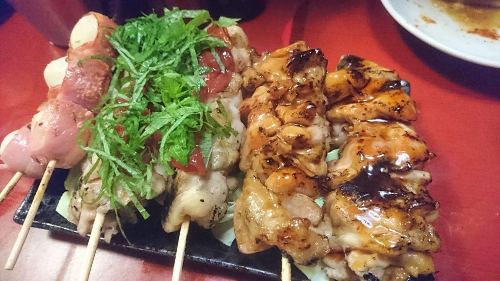 沖縄市胡屋串源の焼鳥