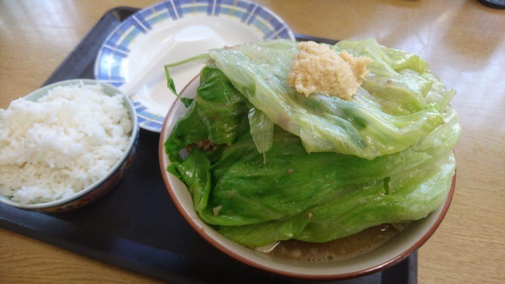 沖縄市上地グランド食堂のほね汁