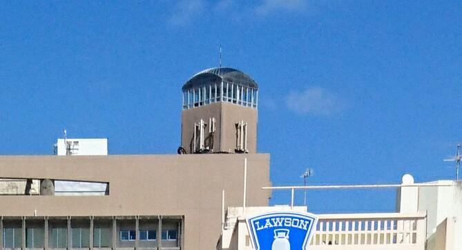 沖縄市役所展望台