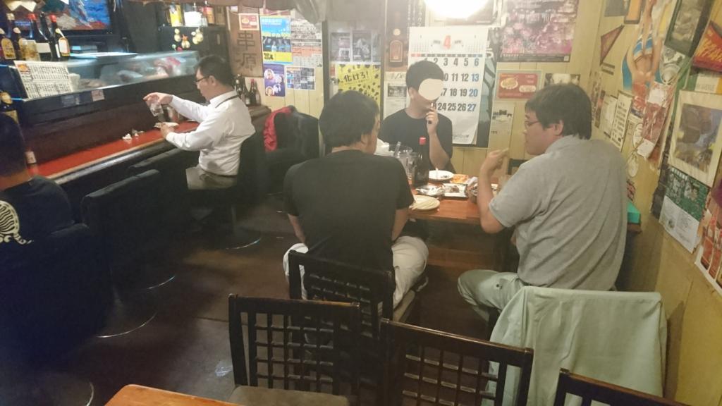 沖縄市胡屋串源の店内