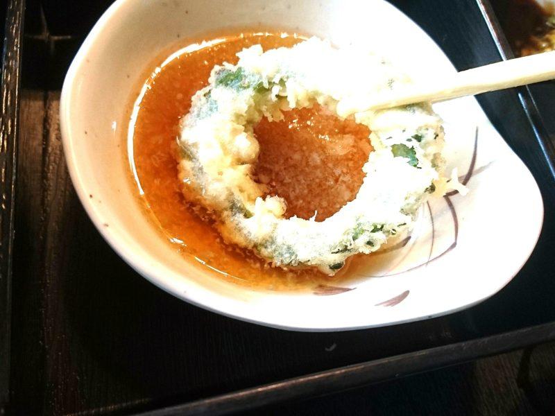 沖縄市胡屋割烹末広の天ぷら