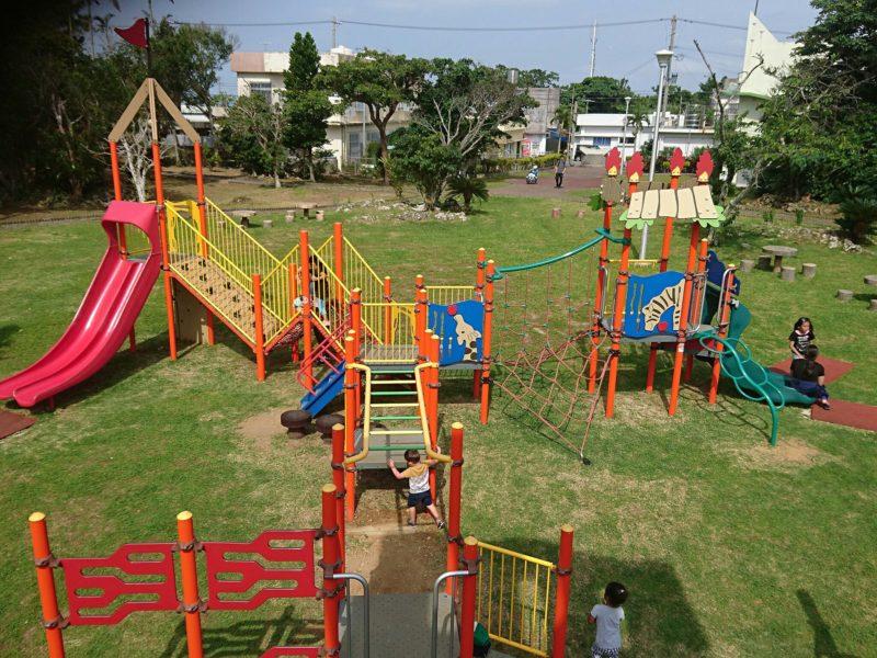 沖縄市八重島の八重島公園