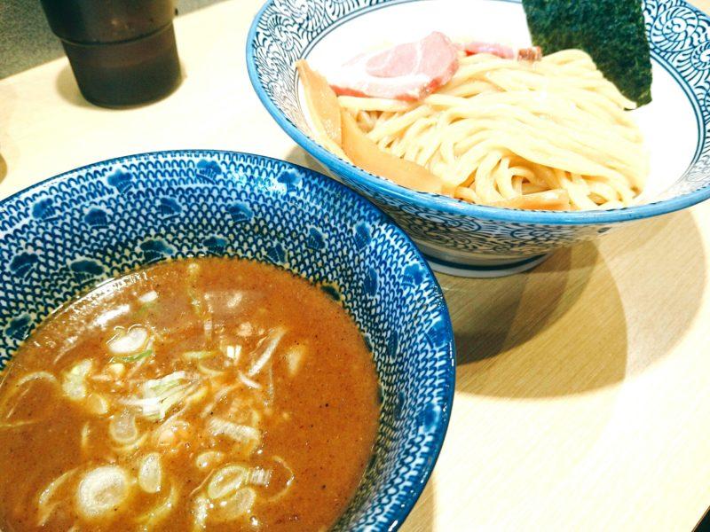 沖縄市美原らー麺アオキジのつけ麺