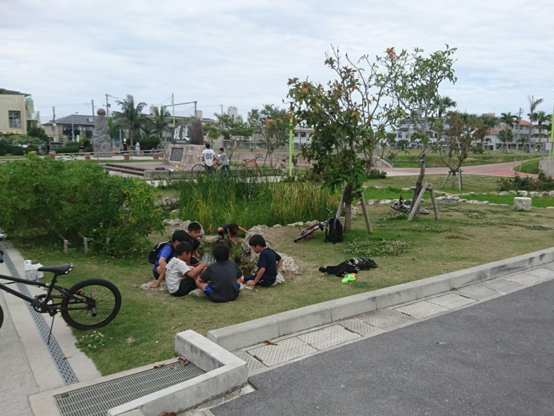 沖縄市高原の美東公園
