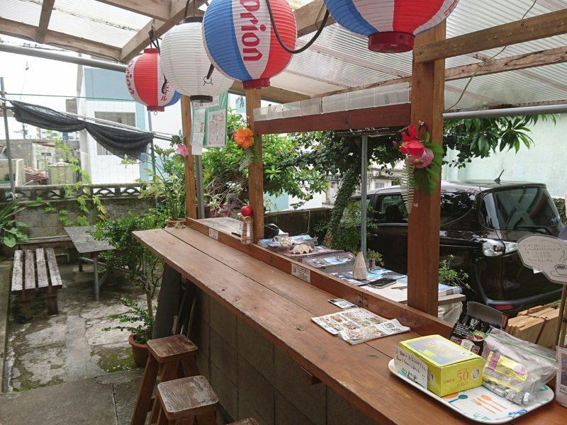 沖縄市ごーやー荘の屋台