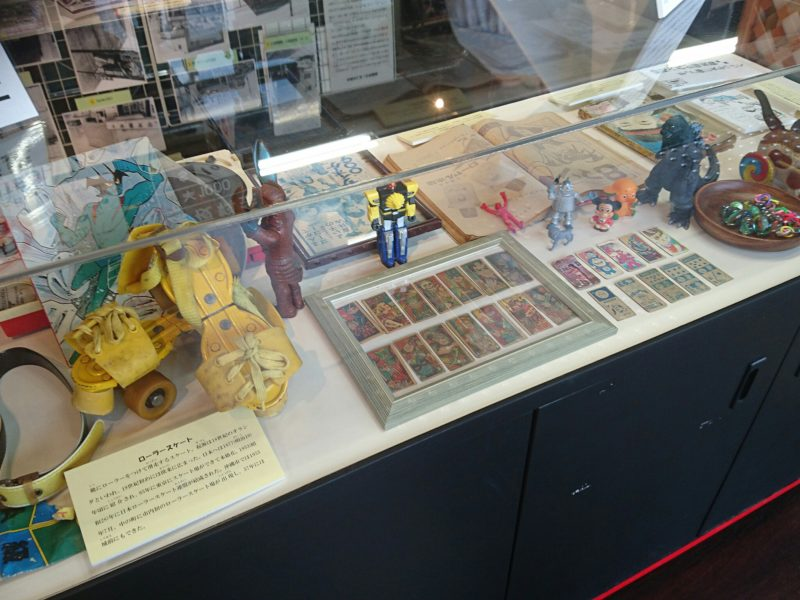 沖縄市ヒストリートの展示物