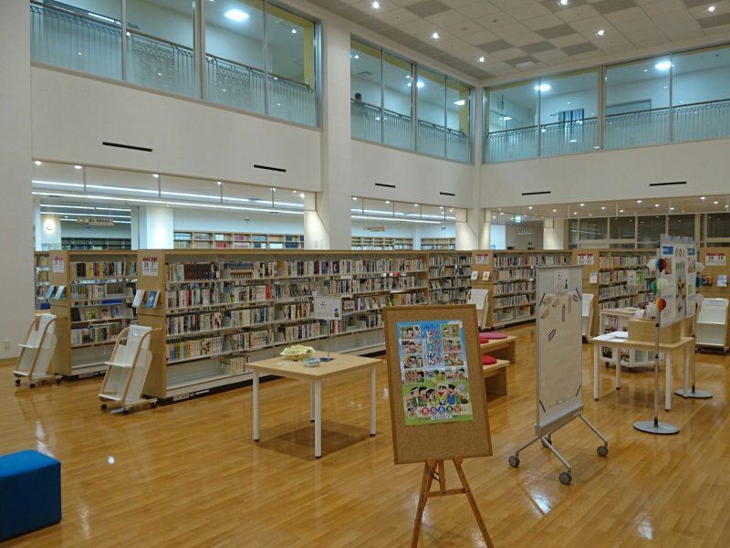 沖縄市中央沖縄市立図書館一般図書コーナー