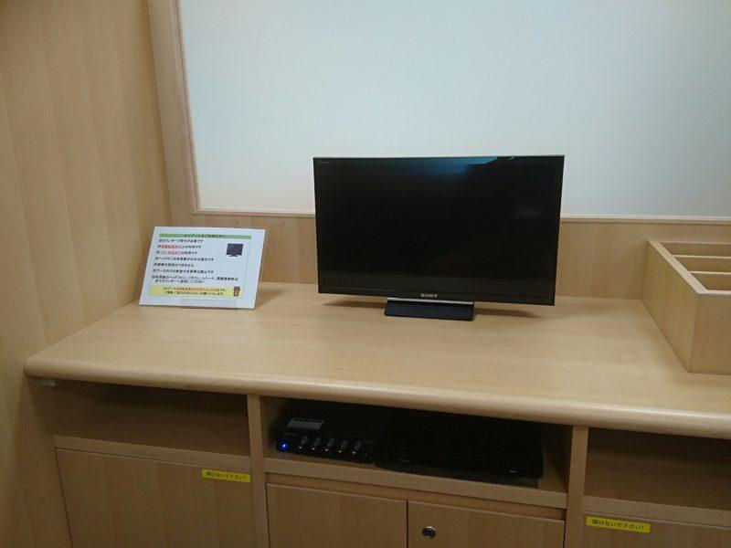 沖縄市中央沖縄市立図書館視聴覚コーナーのブース