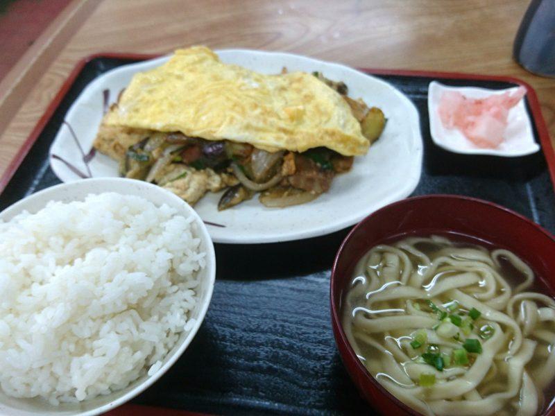 沖縄市中央上原商店のナス味噌