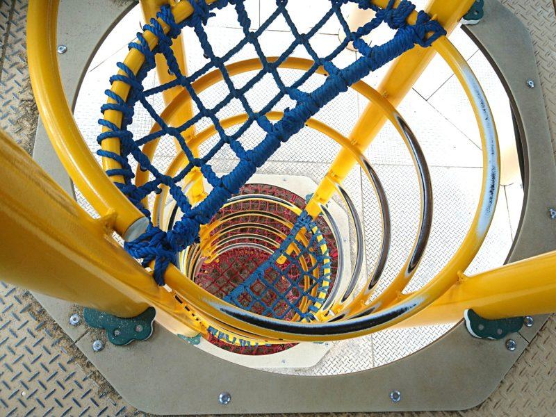 沖縄市若夏公園のはしご