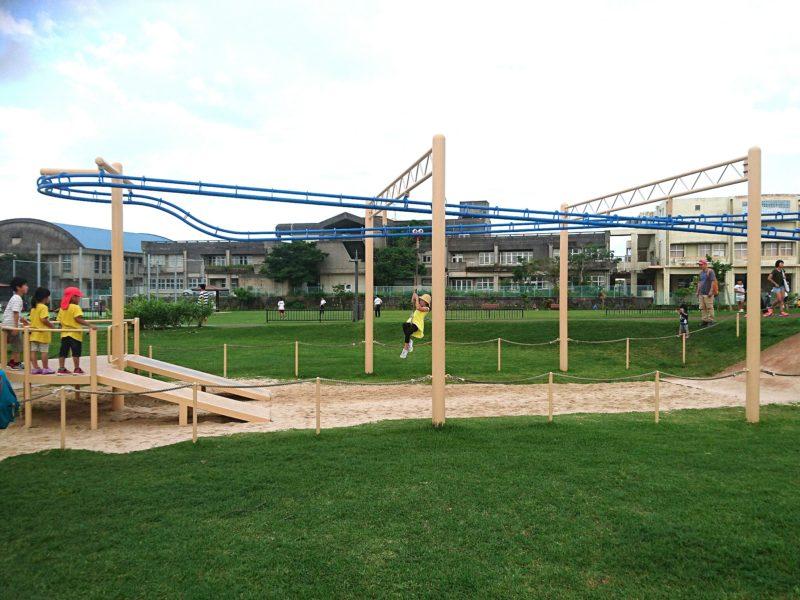 沖縄市若夏公園のターザン