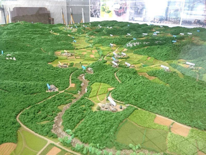 沖縄市倉敷のジオラマ