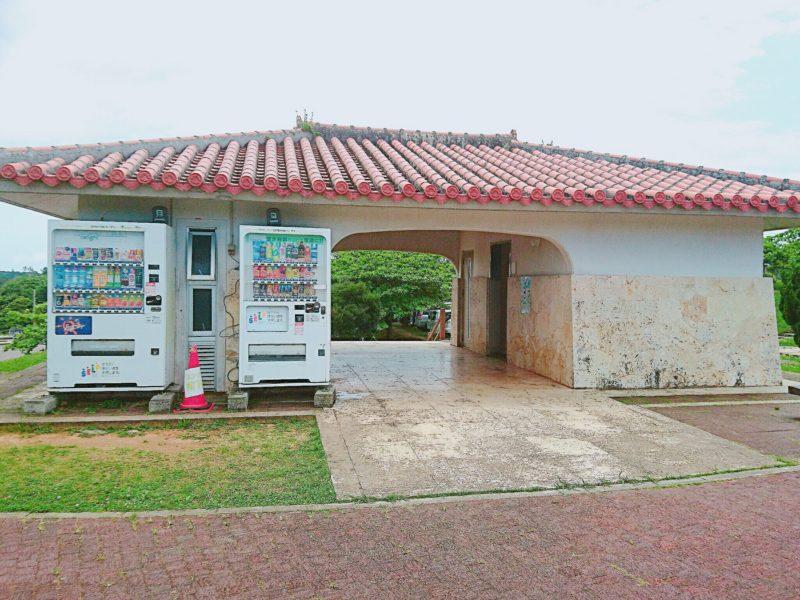 沖縄市倉敷ダムのトイレ