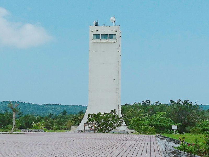 沖縄市倉敷ダムの展望タワー