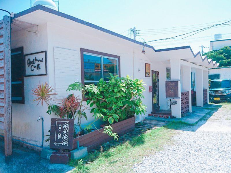 沖縄市バードランドカフェの外観
