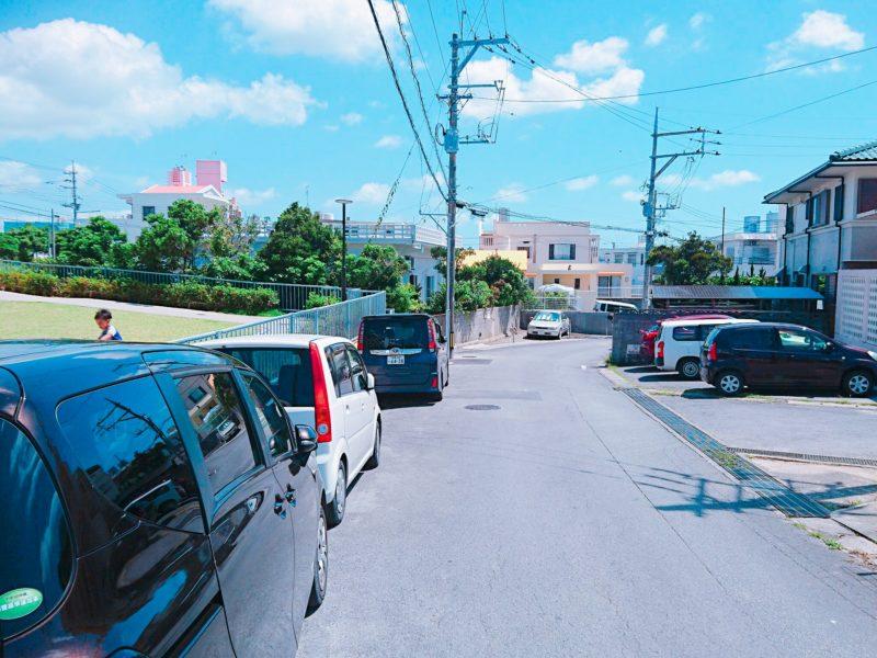 沖縄市宮里第一公園の駐車場