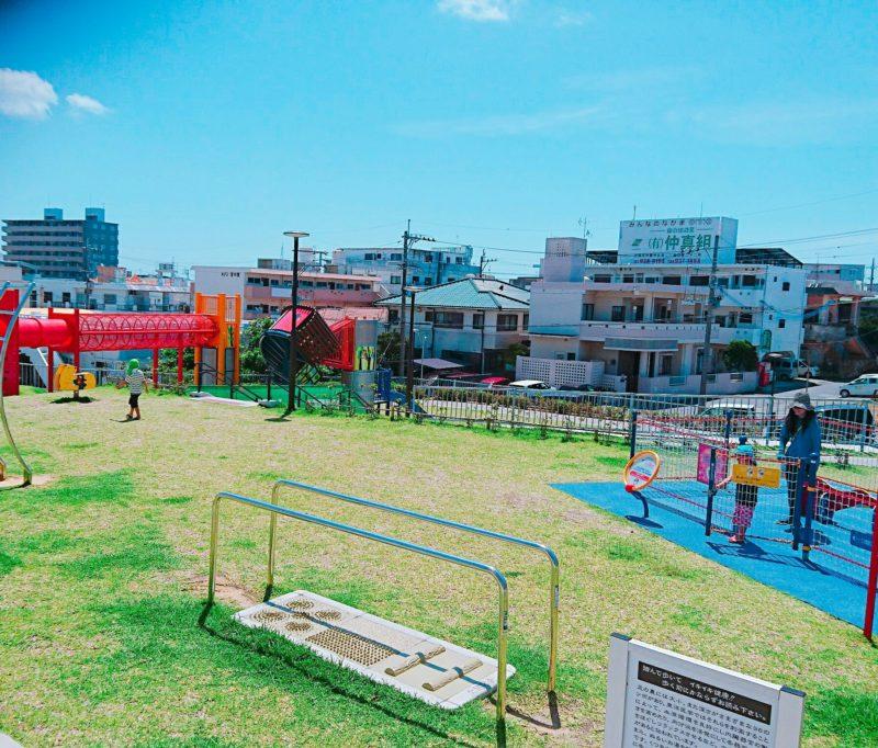 沖縄市宮里第一公園の全景