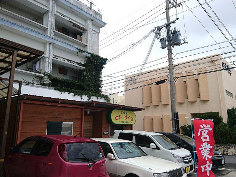 沖縄市胡屋なか・ゆくいの駐車場