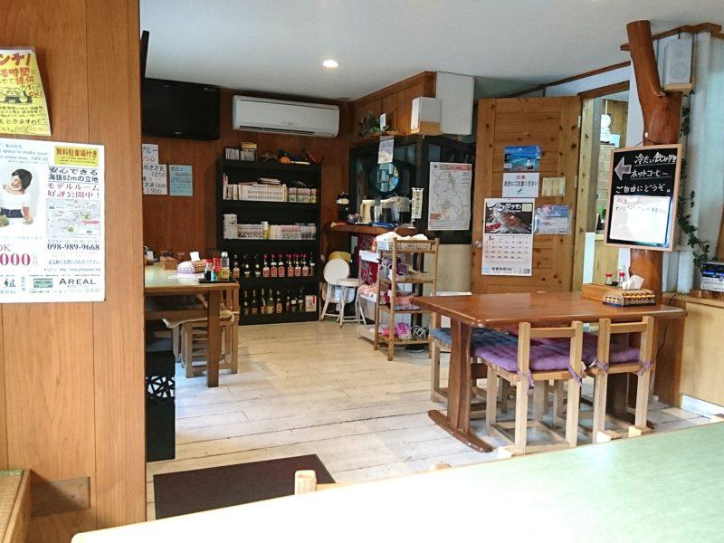 沖縄市胡屋なか・ゆくいの店内