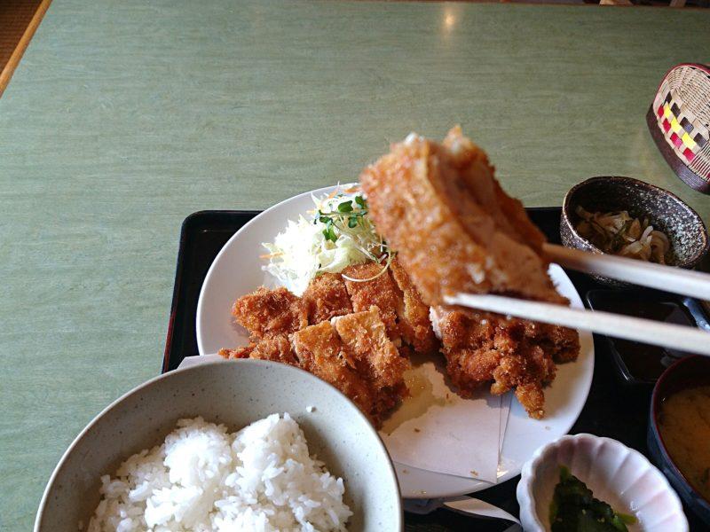 沖縄市胡屋なか・ゆくいのチキンカツ