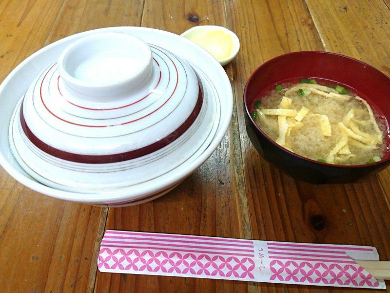 沖縄市照屋お食事処一茶のかつ丼
