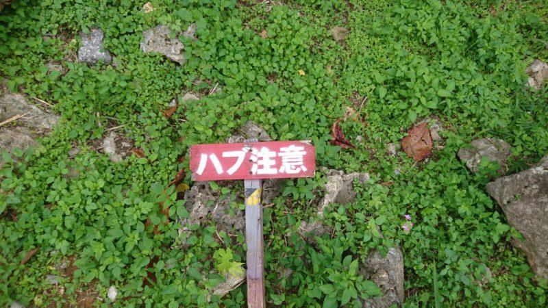 沖縄市八重島の八重島公園の看板