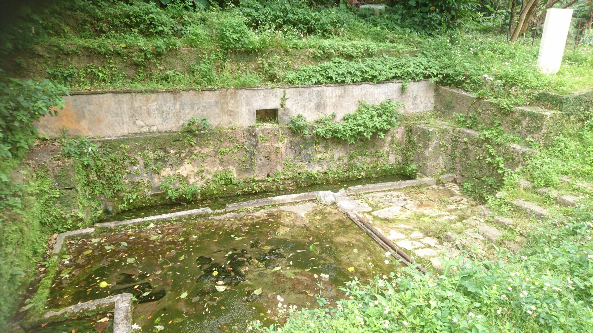 沖縄市室川の室川井(ムルカーガー)