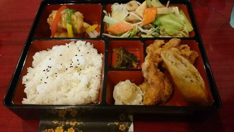沖縄市中華料理義龍イーロンのイーロンランチ