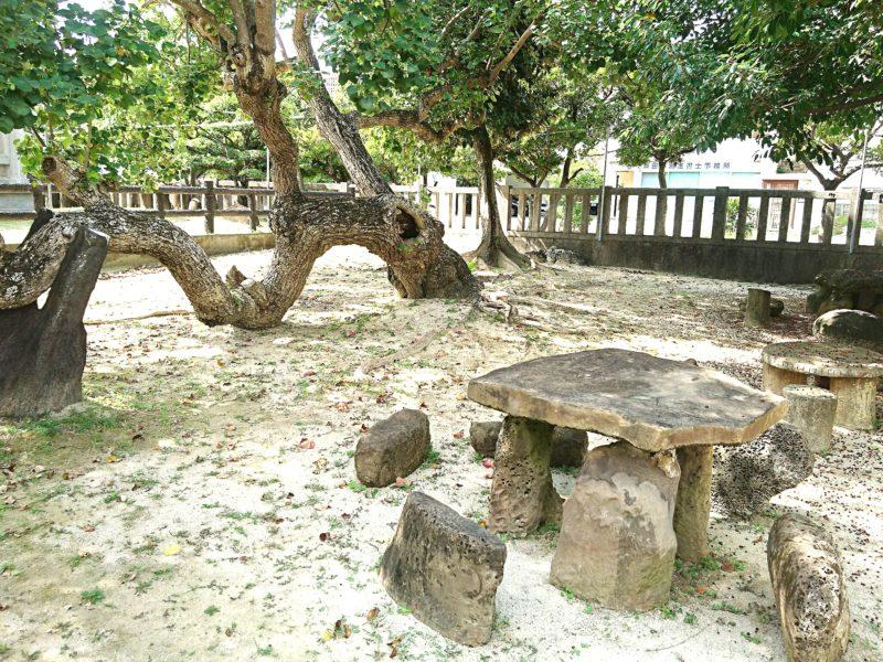 沖縄市泡瀬ビジュルの庭園