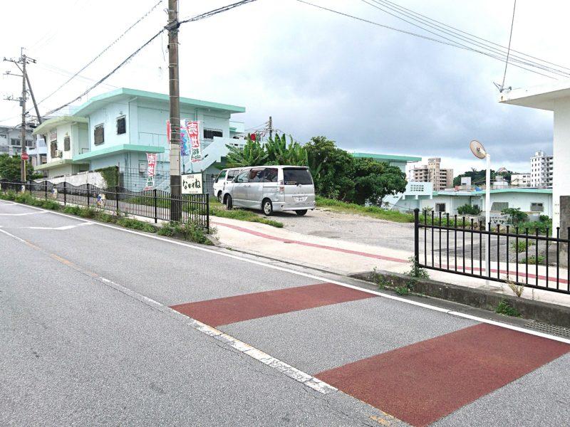 沖縄市胡屋かぼ天の店なかそね入り口