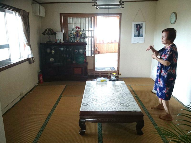 沖縄市久保田荘の部屋