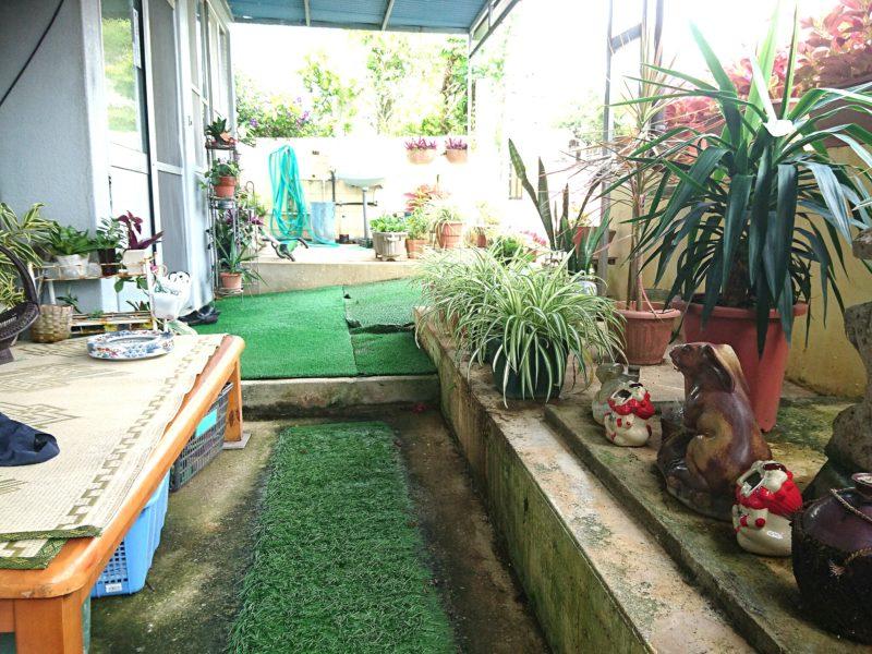 沖縄市民宿久保田荘の休憩所