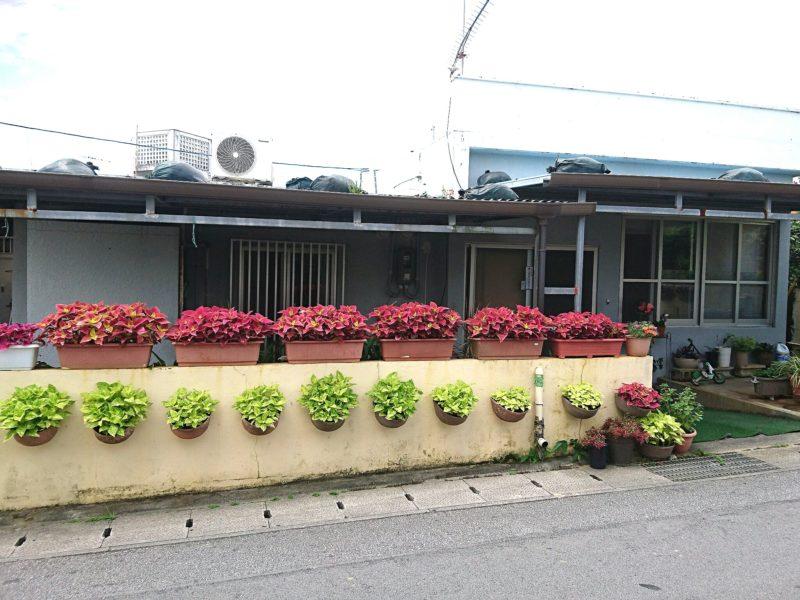 沖縄市民宿久保田荘の外観