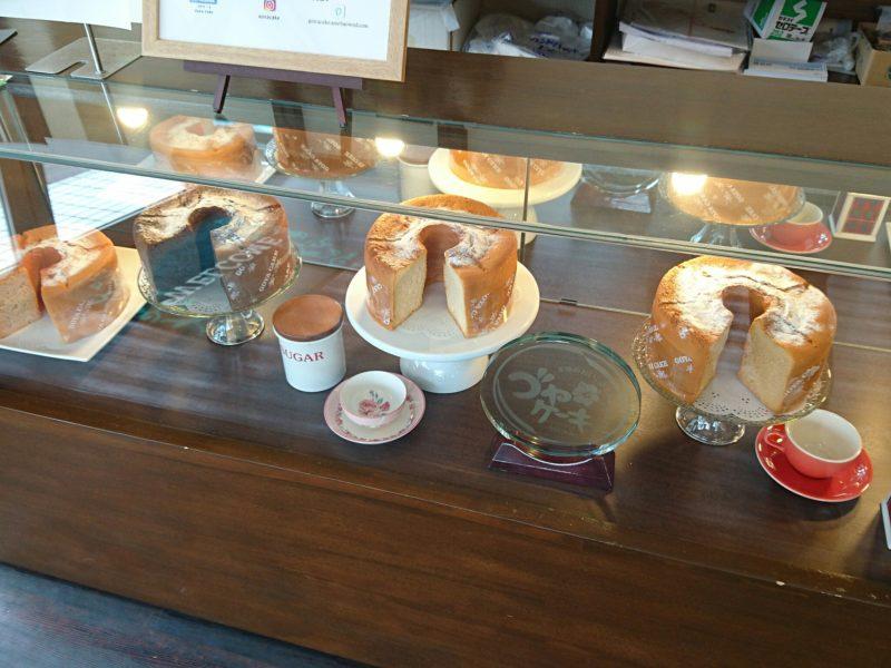 沖縄市ゴヤケーキのシフォンケーキ