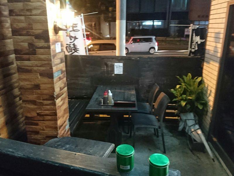 麺やKEIJIRO(けいじろう)沖縄市胡屋の外
