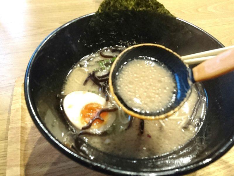 沖縄市松本池武当麺家しゅんたくのスープ