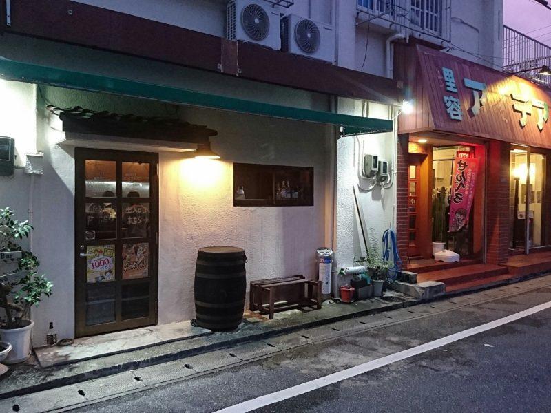 沖縄市諸見百軒通りパッソの外観
