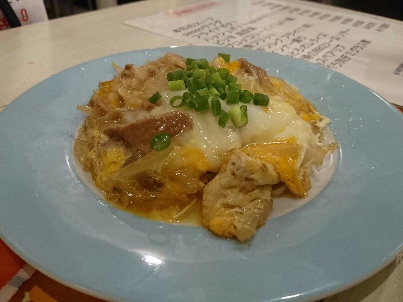 沖縄市パッソの牛バラ卵とじ