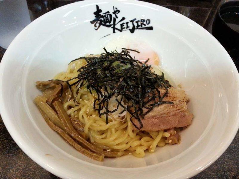 麺やKEIJIRO(けいじろう)沖縄市胡屋のまぜ麺