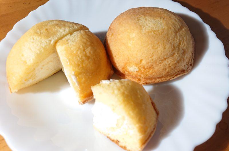沖縄市なかもと製菓のパフケーキ