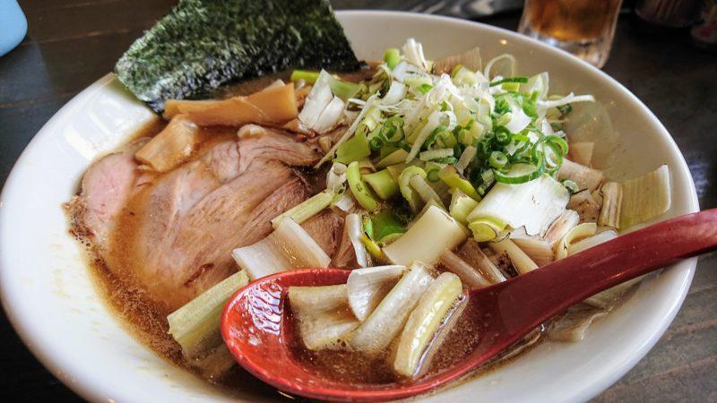 沖縄市安慶田ゆいまーる人;煮干しラーメン