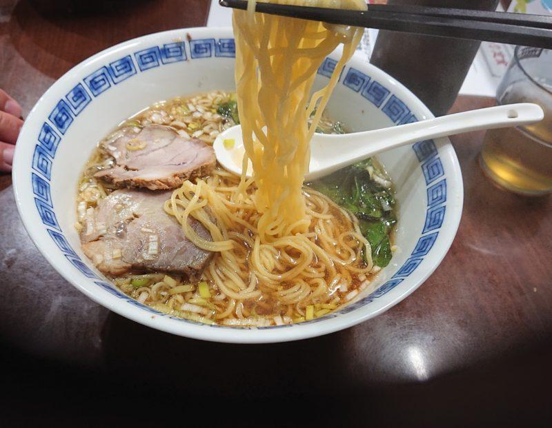 沖縄市中央ラーメン北京亭の麺