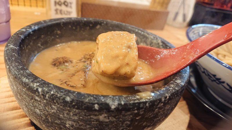 下品なぐらいダシのうまいラーメン屋沖縄市園田の濃厚魚介豚骨つけ麺